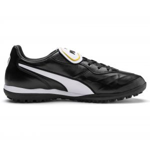 Puma King Top TT, Chaussures de Football Mixte Adulte, Black White, 12 EU