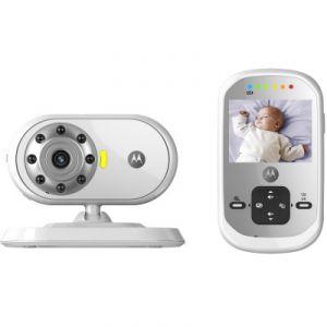 """Motorola MBP662 - Moniteur bébé vidéo connecté avec écran 2,4"""""""