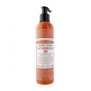 Dr bronner's Lait corps orange & lavande - 240 ml