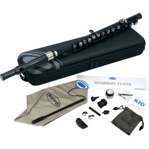NuVo Instruments Student Flute (black)