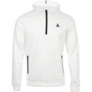 Le Coq Sportif Sweat-shirt Tech Hoody 1/2 Zip N°1 blanc - Taille EU M,EU L