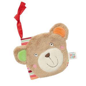 """Fehn Le livre d'images souple """"Teddy"""" livre bébé"""