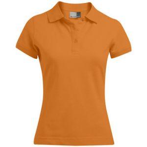 Promodoro Polo Polo 92-8 Femmes orange - Taille EU S,EU M,EU L,EU XL