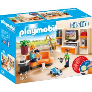 Playmobil 9267 - City Life : Salon équipé