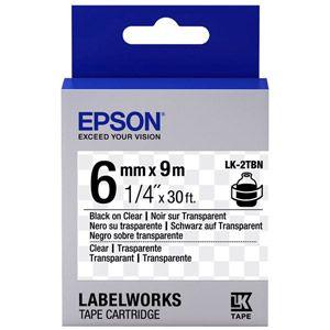 Epson LabelWorks LK-2TBN - bande d'étiquettes