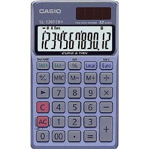 Casio SL-320TER+ - Calculatrice financière de poche