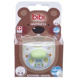 Bibi Sucette Happiness hiboux 0-6 mois