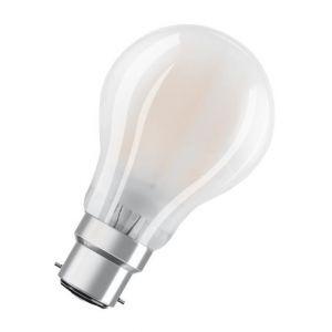 Osram Ampoule LED B22 standard dépolie 7 W équivalent a 60 W blanc chaud