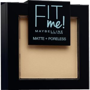 Maybelline Fit Me - Poudre mat antipores 220 Natural beige NU