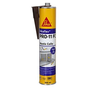 Sika MASTIC-COLLE POLYURETHANNE FLEX PRO 11 FC MARRON CARTOUCHE 300ML