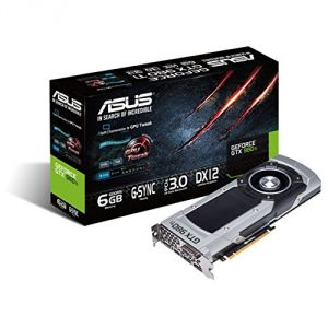 Asus GTX980TI-6GD5 - Carte Graphique GeForce GTX 980 Ti 6 Go GDDR5 PCI Express 3.0 16x