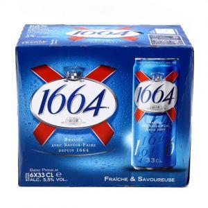 Kronenbourg 1664 - 6x33cl 1664 edition limitee 2019 - 5.50 degre alcool