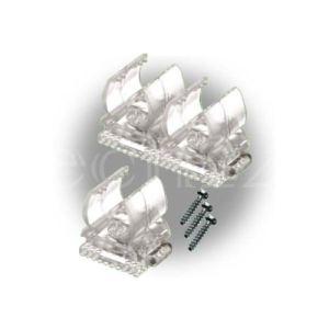Gev Clips de fixation pour cordon lumineux (13 mm)