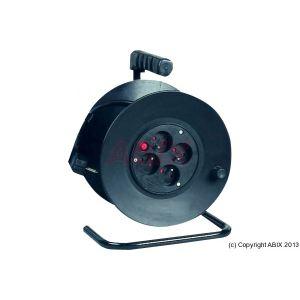 MCAD 820113 - Enrouleur cable HO5-VVF 3 X 1.5MM² protection contre les surtensions