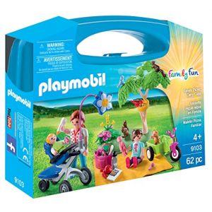 Image de Playmobil 9103 - Valisette pique-nique en famille
