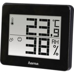 Hama Thermo-hygromètre TH-130 SC noir
