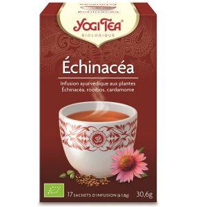 Yogi Tea Thé Ayurvédique Echinacea - Boîte de 17 sachets