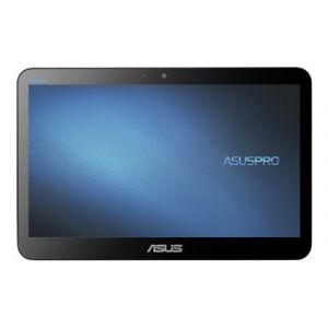 """Asus All-in-One PC A41GAT - Tout-en-un - 1 x Celeron N4100 / 1.1 GHz - RAM 4 Go - HDD 500 Go - UHD Graphics 600 - GigE - LAN sans fil: Bluetooth 4.0, 802.11ac - Win 10 Familiale 64 bits - moniteur : LED 15.6"""" 1366 x 768 (HD) écran tactile"""
