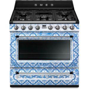 Smeg TR90DGM9 Dolce Gabbana - Piano de cuisson gaz