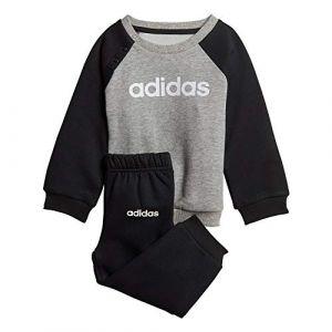 Adidas Ensembles de survêtement Survêtement Linear Fleece Gris - Taille 18 / 24 mois,9 / 12 mois,2 / 3 ans,3 / 4 ans