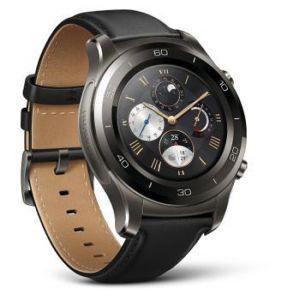 Huawei Watch 2 Classic - Montre connectée Bluetooth Tracker GPS Bracelet cuir