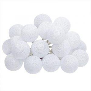 "Guirlande L ineuse à Led ""20 Boules"" Blanc Prix"