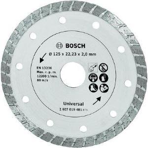 Bosch 2607019481 - Disque diamant Turbo pour meuleuse Ø125mm