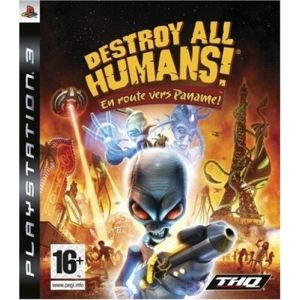 Destroy All Humans! En Route Vers Paname! [PS3]
