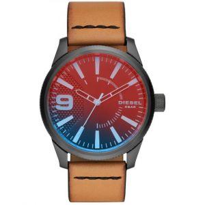 Diesel DZ1860 - Montre pour homme avec bracelet en cuir