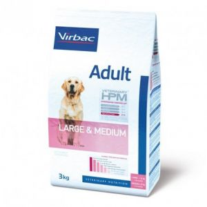 Virbac Adult Dog Large & Medium - Sac 12 kg