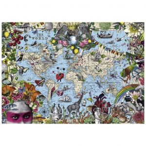 Heye Puzzle 2000 Pièces : Quirky World