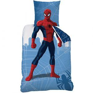Cti Parure de lit imprimée Spiderman Manhatan (140 x 200 cm)