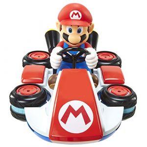 Jakks Pacific Vehicule Radiocommande - World Of Nintendo - Mario Kart 8 - Mini Anti Gravity Racer - Mario [Voiture Telecommandee]