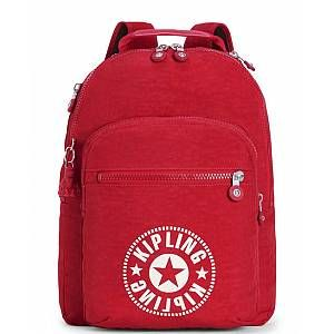 Kipling CLAS SEOUL Cartable, 45 cm, 25 liters, Rouge (Lively Red)