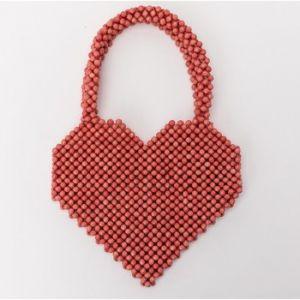 Lollipops Dearl babies - Sac à main perlé - rouge