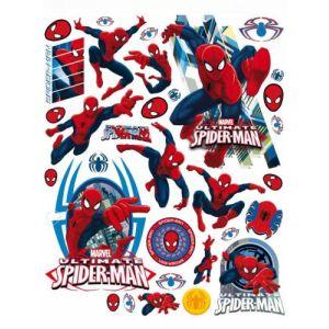 Décorations pour fenêtres Spiderman 42 x 30 cm
