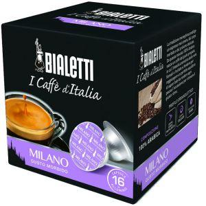 I caffè d'italia 16 capsules Café Milano 100% Arabica Mokespresso Bialetti