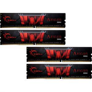 G.Skill F4-2133C15Q-16GIS - Barrette mémoire Aegis Gaming 16 Go (4 x 4 Go) DDR4 2133 Mhz Cas 15