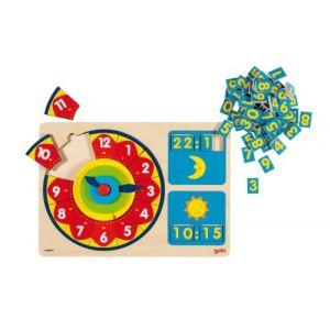 Goki 58950 - Apprendre à lire l'heure (85 pièces)