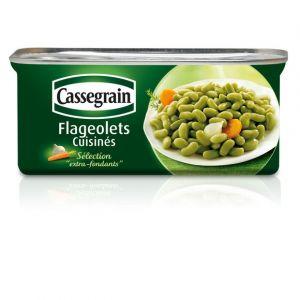 Cassegrain Flageolets extra-fins cuisinés - La boîte de 200g