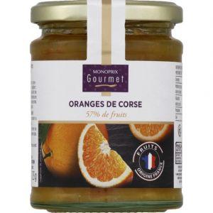 Monoprix gourmet Oranges de Corse 57% de fruits