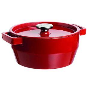 Pyrex Cocotte ronde Slow Cook en fonte (20 cm)