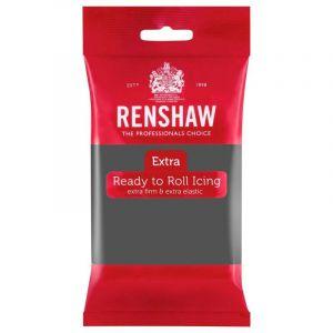 Renshaw Pâte à sucre Extra Gris 250g
