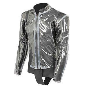 Dainese Vestes Rain Body Racing D1 Jacket - Transparent-Black - Taille L