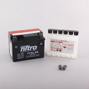 Nitro Batterie YT4L-BS AGM ouvert avec pack acide Type Acide