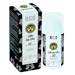 Eco Cosmetics Tattoo Sun Lotion UVB 30