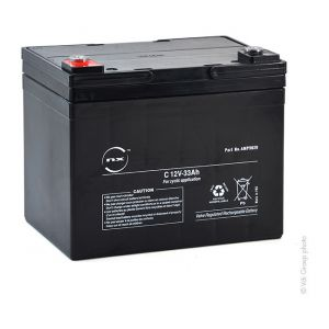 Nx Batterie plomb AGM C 12V-33Ah 12V 33Ah F-M6 - Batterie(s)