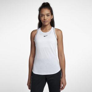 Nike Débardeur de tennis Court Dri-FIT pour Femme - Blanc - Taille XS - Femme