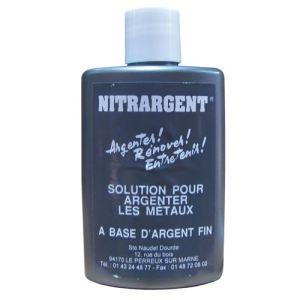 Nitrargent Rénovateur nettoyant pour métaux et argent fin (150 ml)