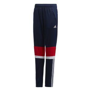 Adidas Pantalon Yb Tr Eq Bleu marine / Rouge - Taille 11-12 Ans